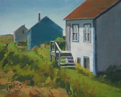 The Old Houses of Ile aux Marins, en ple