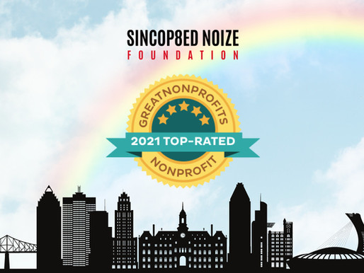 Sincop8ed Noize Foundation Wins 2021 Top-Rated GreatNonprofits Award