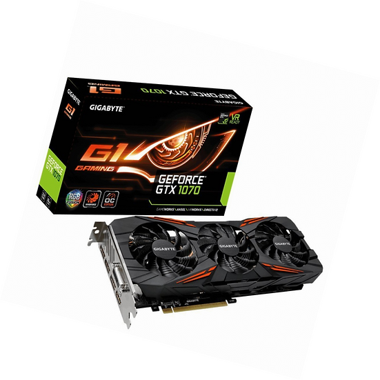<SOLD> Gigabyte GeForce GTX 1070 8GB (USED)