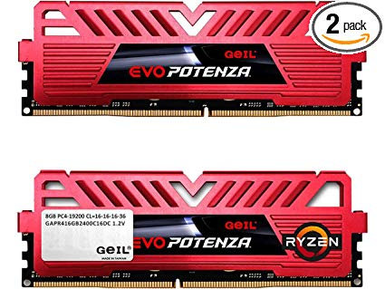 <SOLD> Geil EVO Potenza 8GB DDR4 2400Hz RAM (USED)