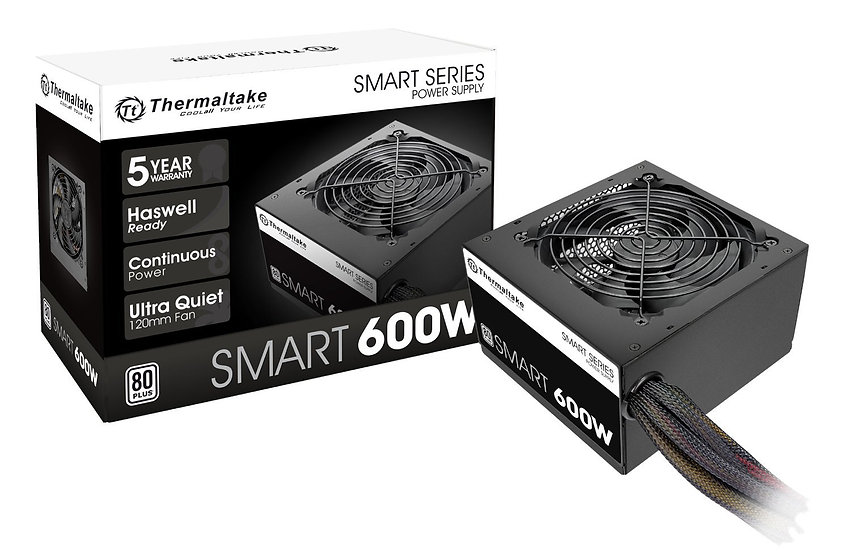 <SOLD> Thermaltake 600W Power Supply (USED)