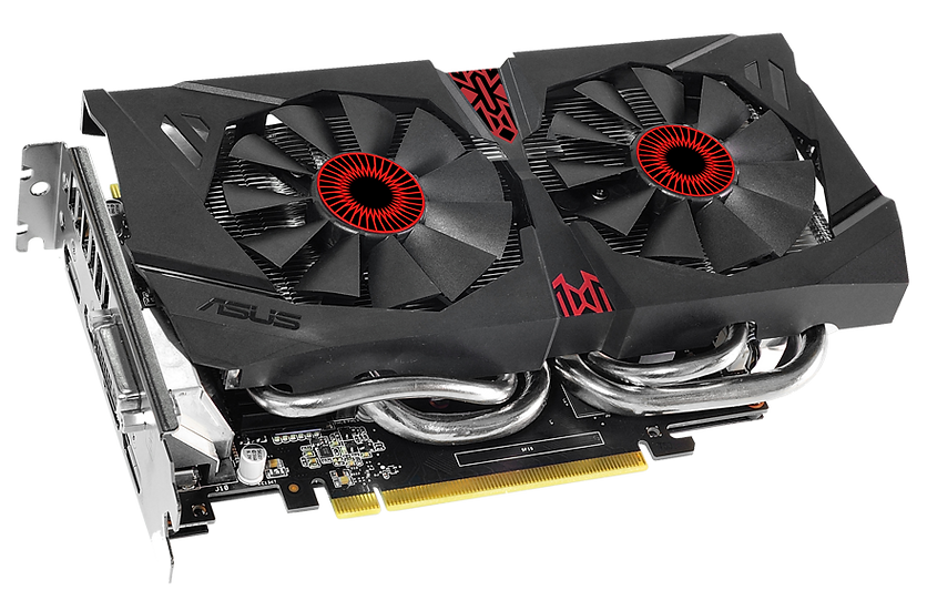 <SOLD> ASUS ROG STRIX GTX 960 Overclocked 2GB Graphics Card (USED)