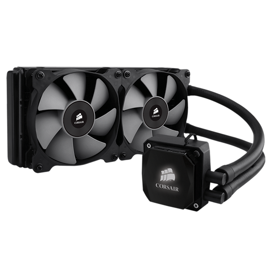 <SOLD> Corsair H100i CPU cooler (USED)