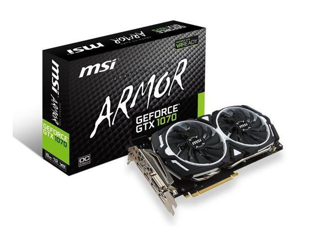 <SOLD> MSI GTX 1070 Armor Graphics Card (USED)
