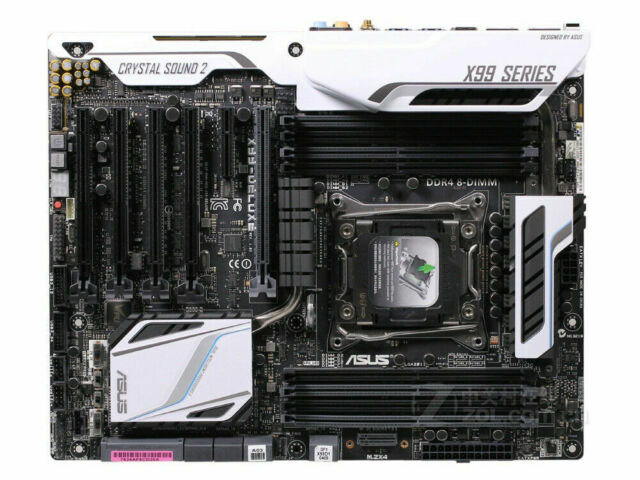 <SOLD> ASUS X99 Deluxe Intel Socket LGA 2011 Motherboard (USED)