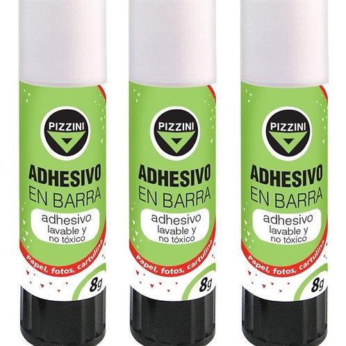 Adhesivo en barra Pizzini 8 grs x1