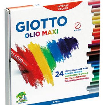 Pasteles al oleo Giotto x 24 colores