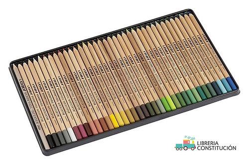 Lapices de Colores Polycolor Lata x 36 u. Profesionales.