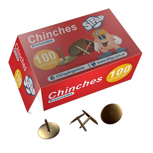 Chinches Sifap x 100 u doradas