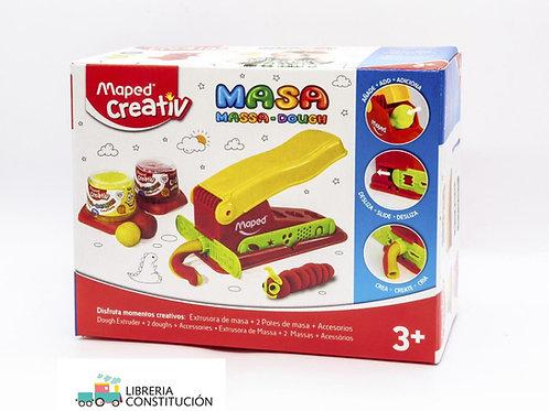 Masa Set Extrusora + 2 masas + accesorios