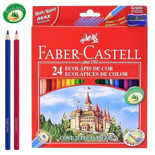Lapices de colores x 24 u