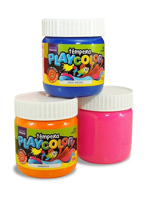 Tempera Playcolor Pote 300 ml. x 1 u.