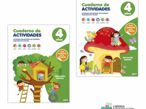 Libro Saldaña didactico con actividades para 4 años x 1 u.  (131)