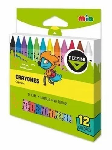 Crayones Pizzini  x 12 u. jumbo