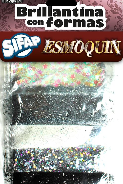 Brillantina con formas Sifap x 5 u Esmoquin