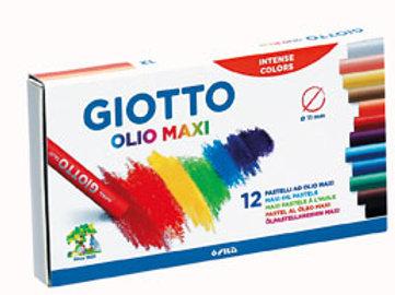 Pasteles al oleo Giotto x 12 colores