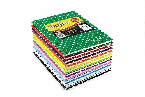 Cuaderno Triunfante 50 hojas t/dura x 10 unidades