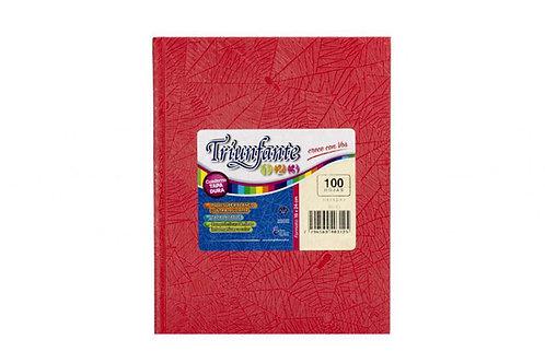 Cuaderno Triunfante 123 (19x24 cm ) 100 hjs