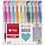 Thumbnail: Roller Filgo gel x 10 colores  GLITTER estuche