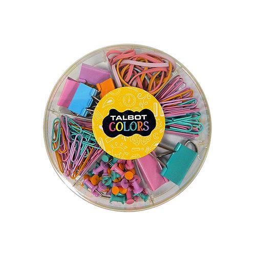 Kit Talbot pastel torta 6D. 3834 set clip/binder/señalador/bandas