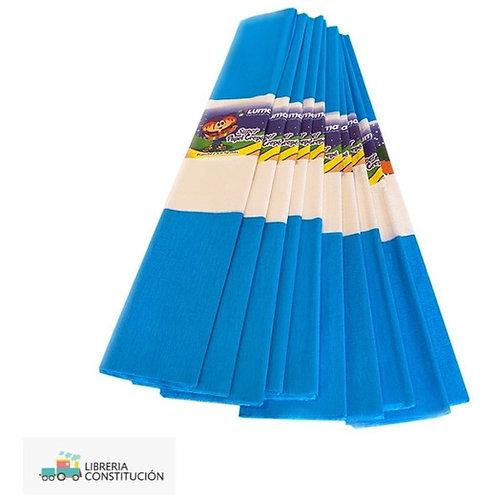 Papel crepe Luma Bandera argentina 2 x 0,50 mtrs. x 1 u.