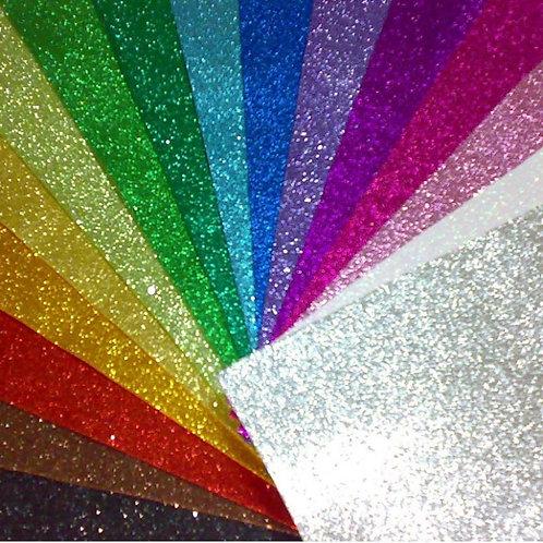 Goma Eva Con brillo / glitter Pax x 10 u Pax 45x65 cm