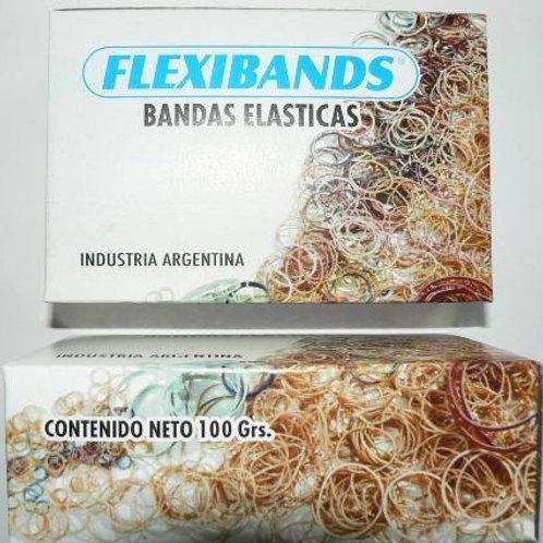 Bandas Elásticas 100 gr Flexiband
