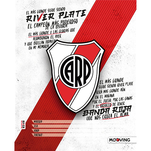Separadores N3 Escolar River Plate Mooving