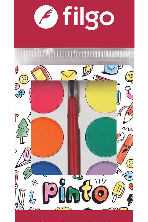 Acuarelas Filgo x 8 colores