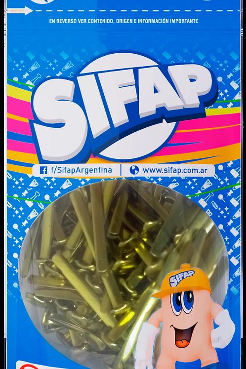 Broche Mariposa Sifap Nro 5 x 100 u