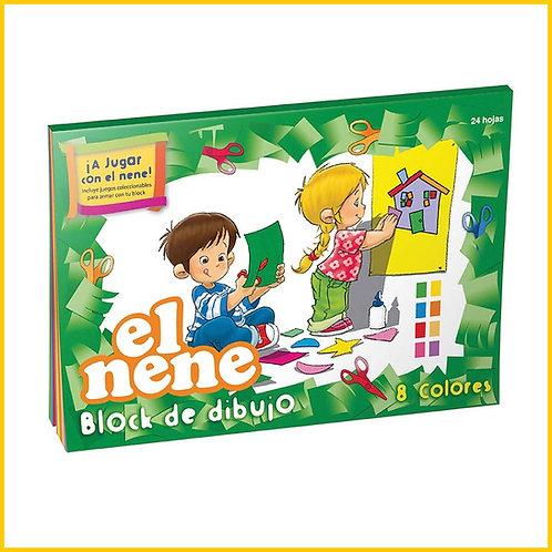 "Block ""El Nene"" Nro 5 x 24 hjs COLOR"