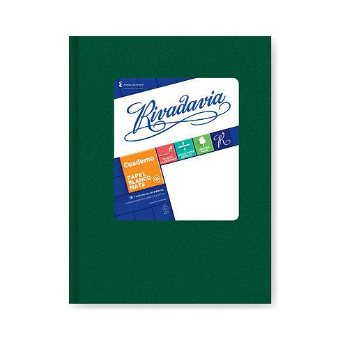 Cuaderno Rivadavia 50 hjs Clasico 16x21 cm Cuadriculado