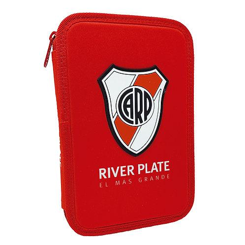 Cartuchera Mooving 1 Piso River Plate textil