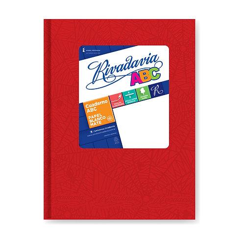 Cuaderno Rivadavia ABC CUADRICULADO x 50 hjs 19 x 23,5 cm