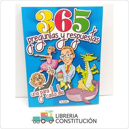 Libro Saldaña 365 Preguntas y Respuestas  x 1 u.