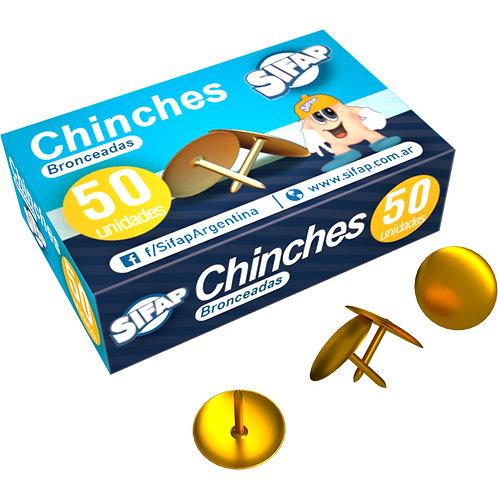 Chinches Sifap x 50 u doradas
