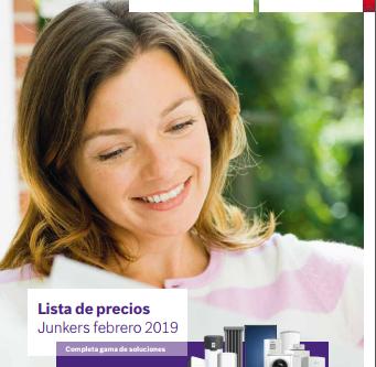 Nueva tarifa Junkers Febrero 2019