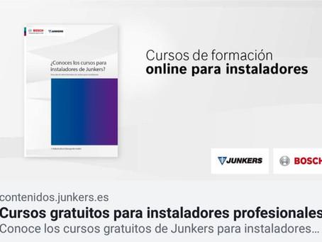 No te pierdas los cursos online de Junkers