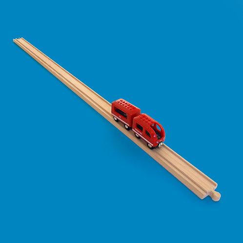 Lange Seppel - XXL Holzschiene