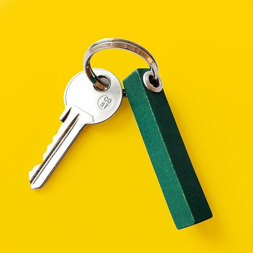 Schlüsselanhänger aus Vintage Rechenstäbchen