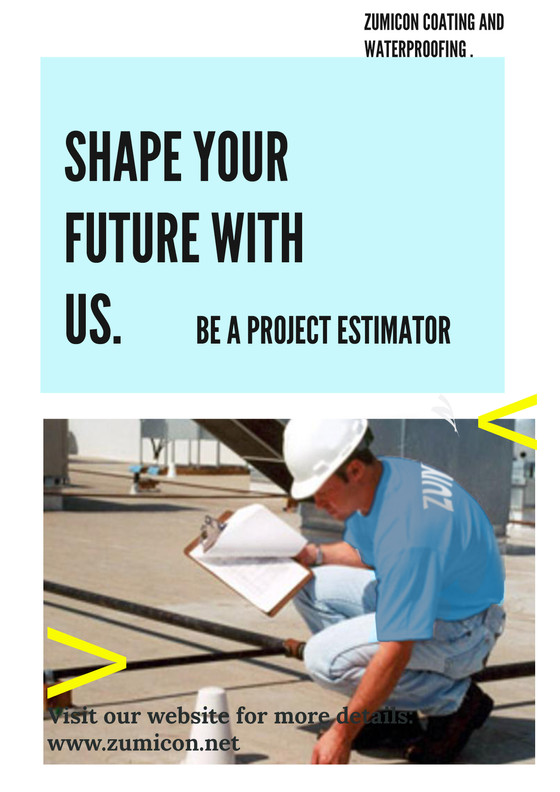 PROJECT ESTIMATOR -WATERPROOFING