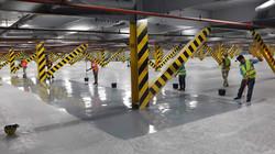 Multi-level Carpark floor coating pr