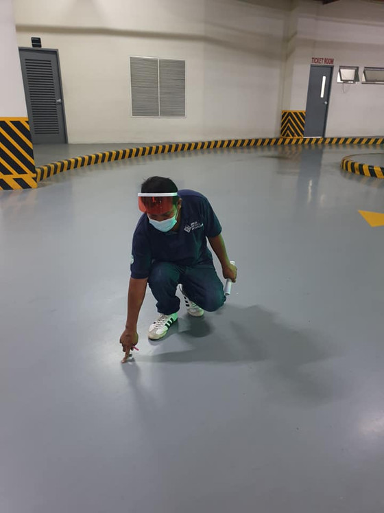 TOUGH TIMES DON'T LAST, BUT OUR EPOXY COATINGS DO.