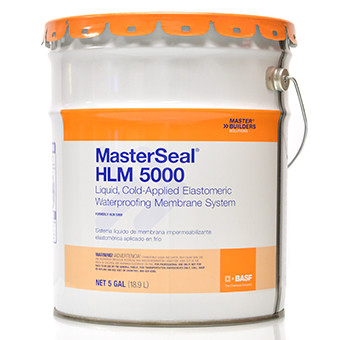MASTERSEAL HLM 5000 LIQUID-APPLIED WATERPROOFING