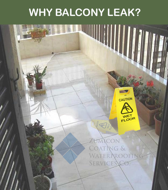 TILED BALCONY LEAK PROBLEMS, WHY?