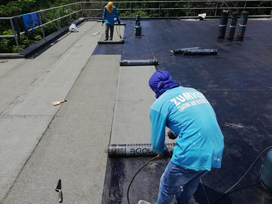 It is important to waterproof your roof deck this summer!