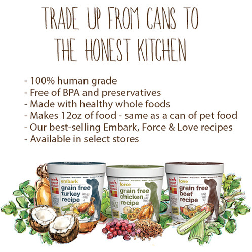 Honest Kitchen Cups (sm-md)