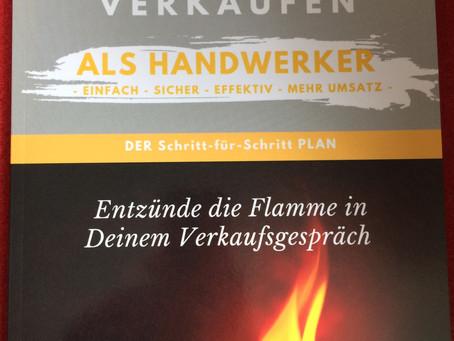 """""""Erfolgreich verkaufen als Handwerker"""" Arbeitsbuch für Raumausstatter"""
