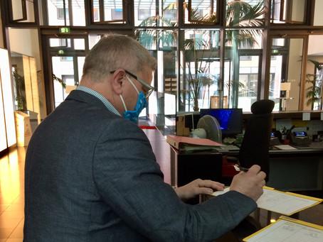 Landesverbandstag 2020 Hessen Begrenzte Teilnehmerzahl Anmeldung