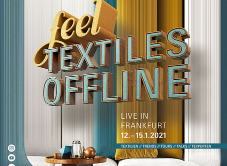 Preview Heimtextil Trends 21/22: Nothing New, Everything New